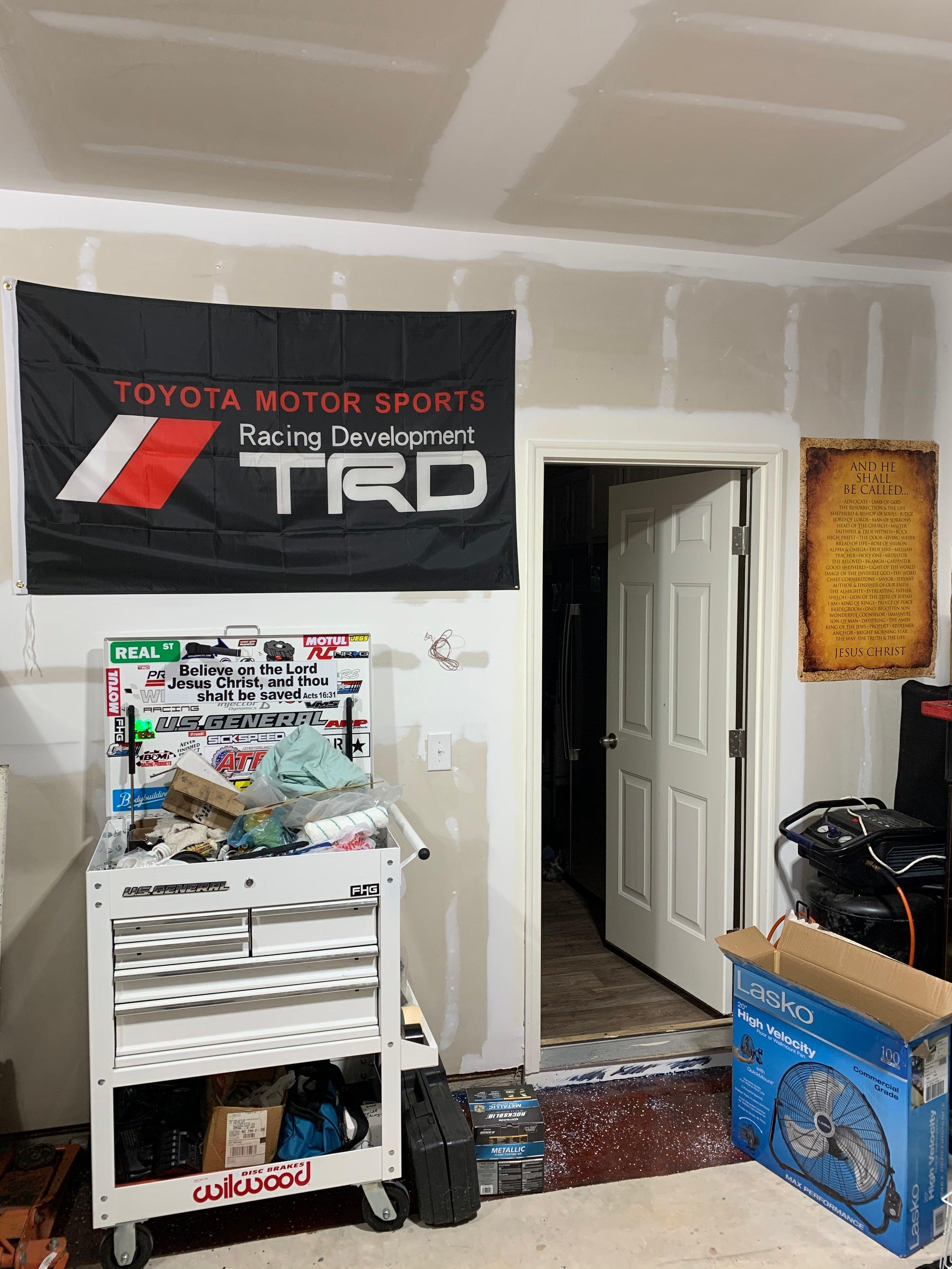 20x13 Garage self storage unit