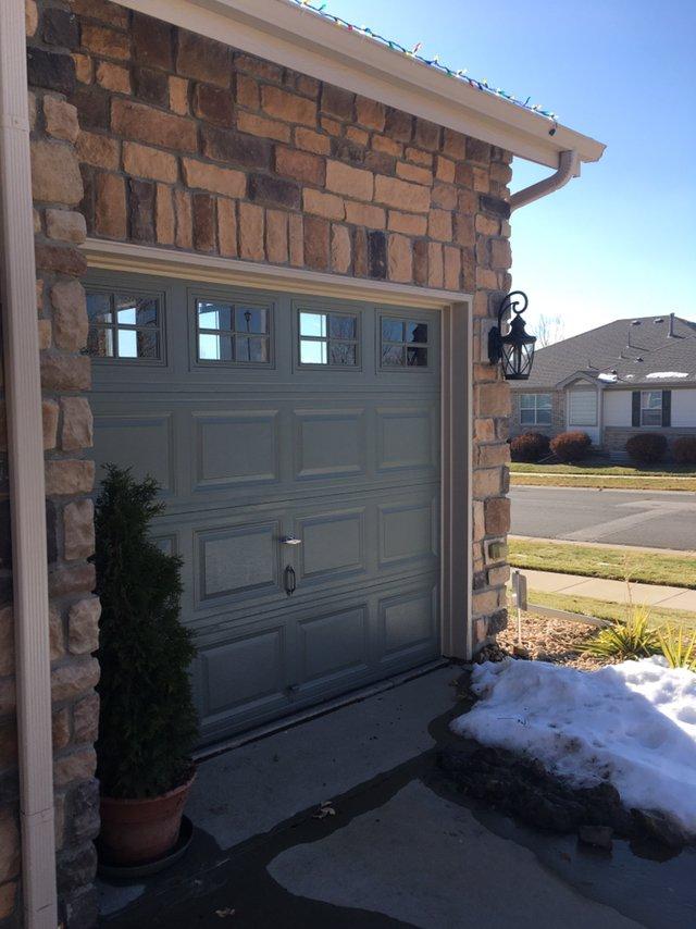 20x9 Garage self storage unit