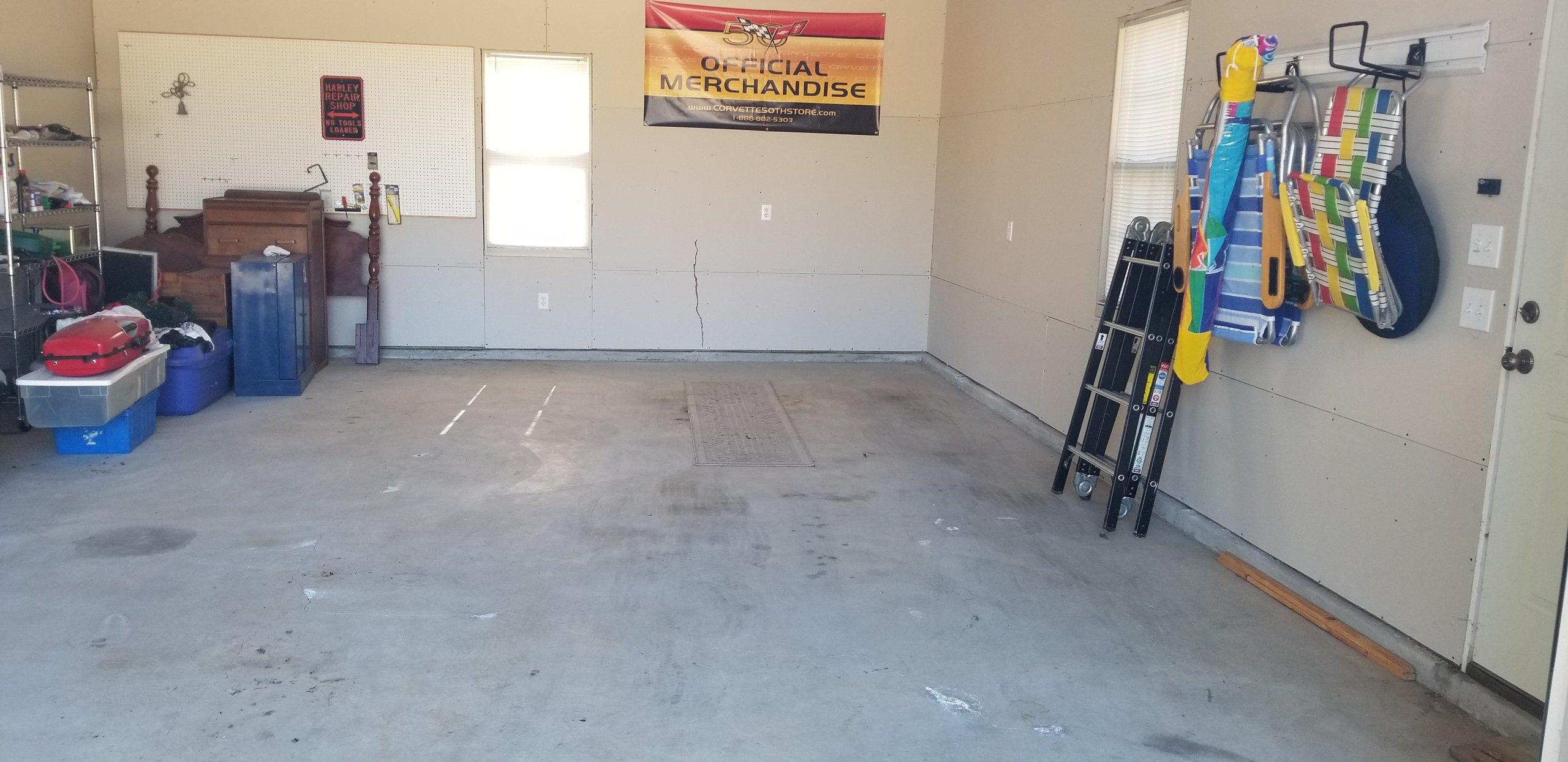 24x13 Garage self storage unit