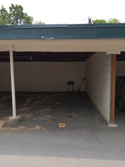 24x10 Carport self storage unit