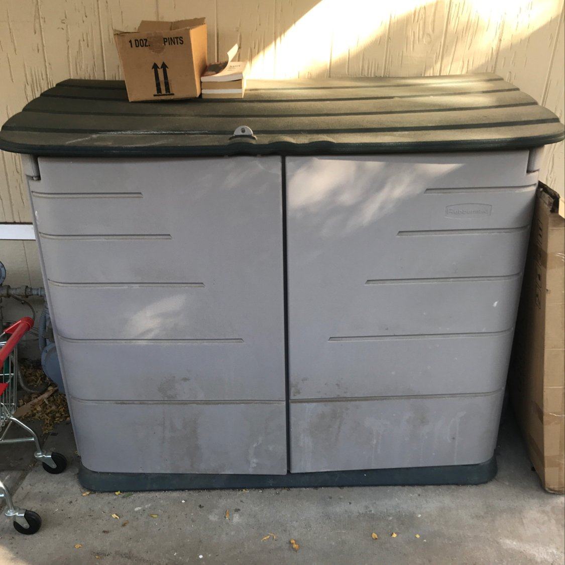 4x5 Shed self storage unit