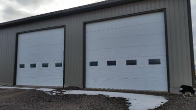 60x10 Garage self storage unit
