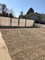 64x12 Unpaved Lot self storage unit