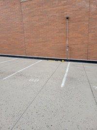 17x8 Parking Lot self storage unit