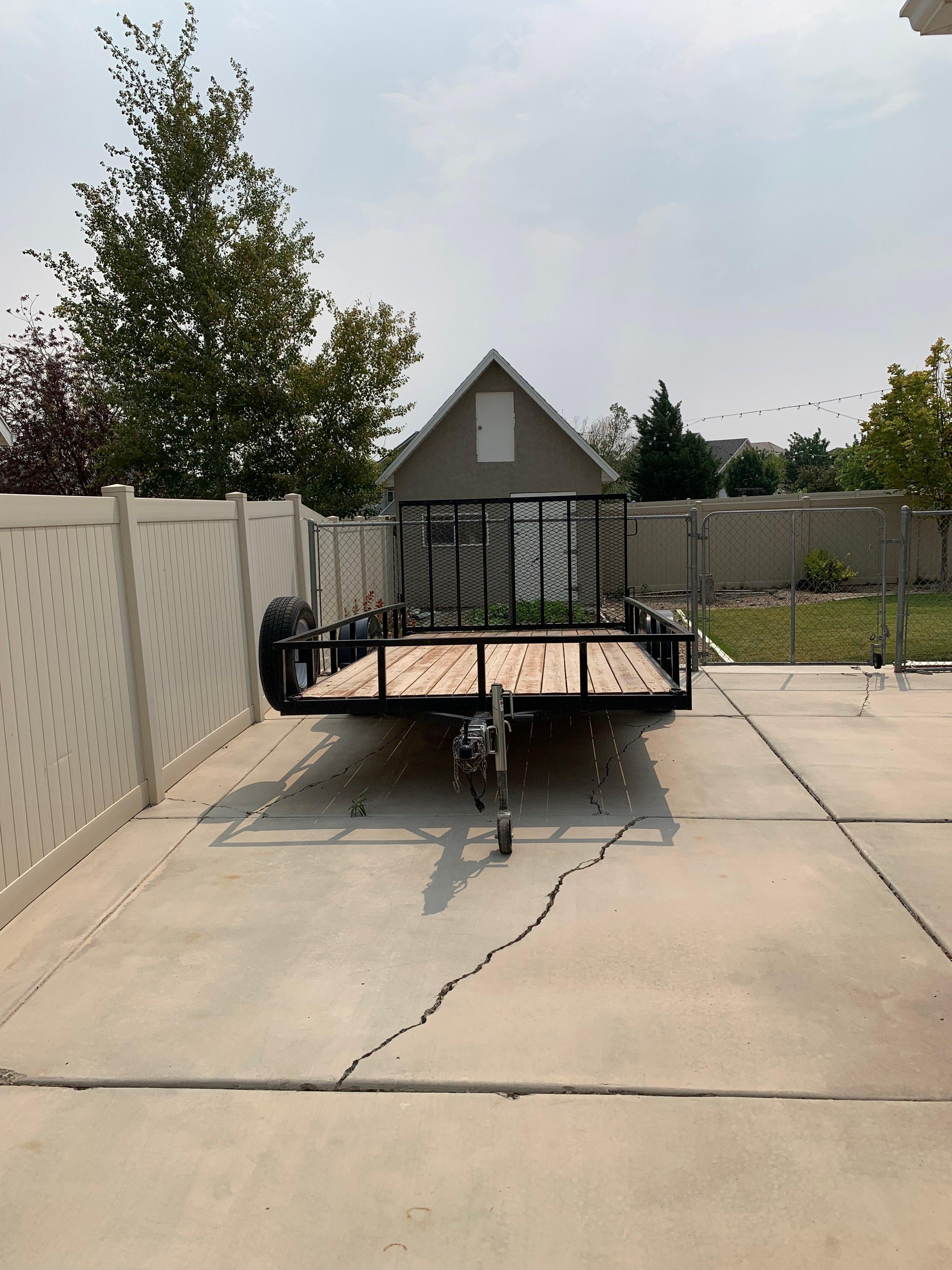 26x9 Driveway self storage unit