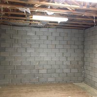 12x12 Basement self storage unit