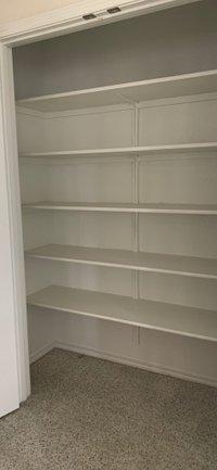 5x2 Closet self storage unit