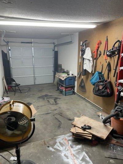 12x6 Garage self storage unit