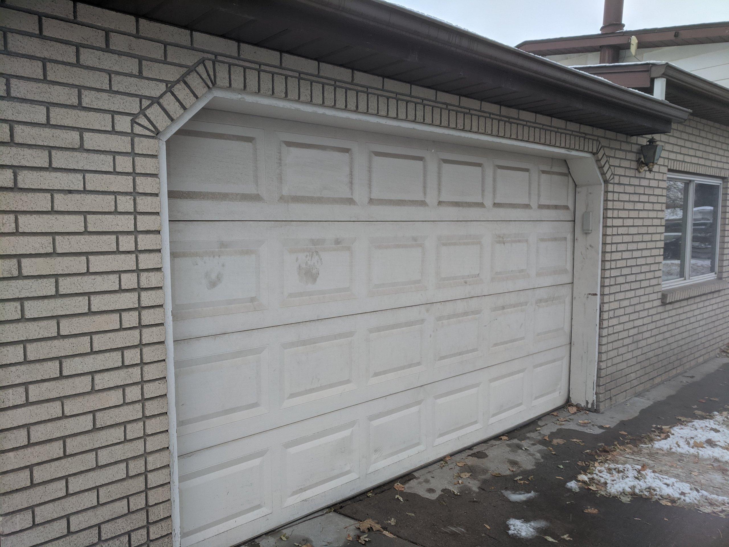 24x14 Garage self storage unit