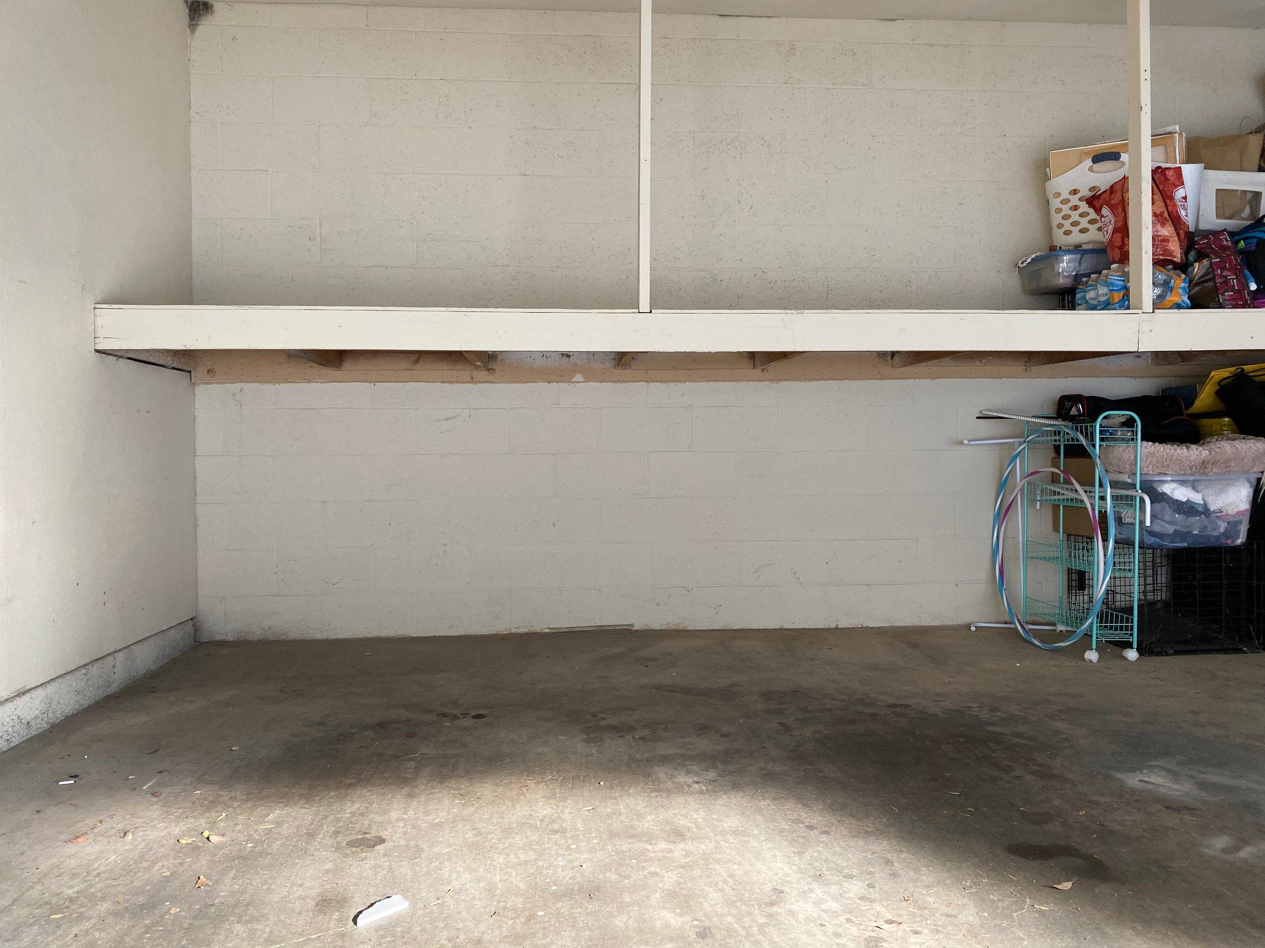 3x12 Garage self storage unit