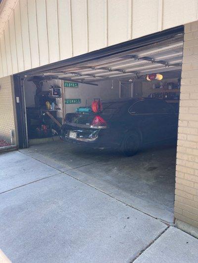 13x16 Garage self storage unit