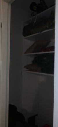 6x6 Closet self storage unit