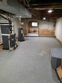 35x10 Basement self storage unit