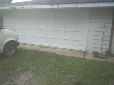 33x32 Garage self storage unit