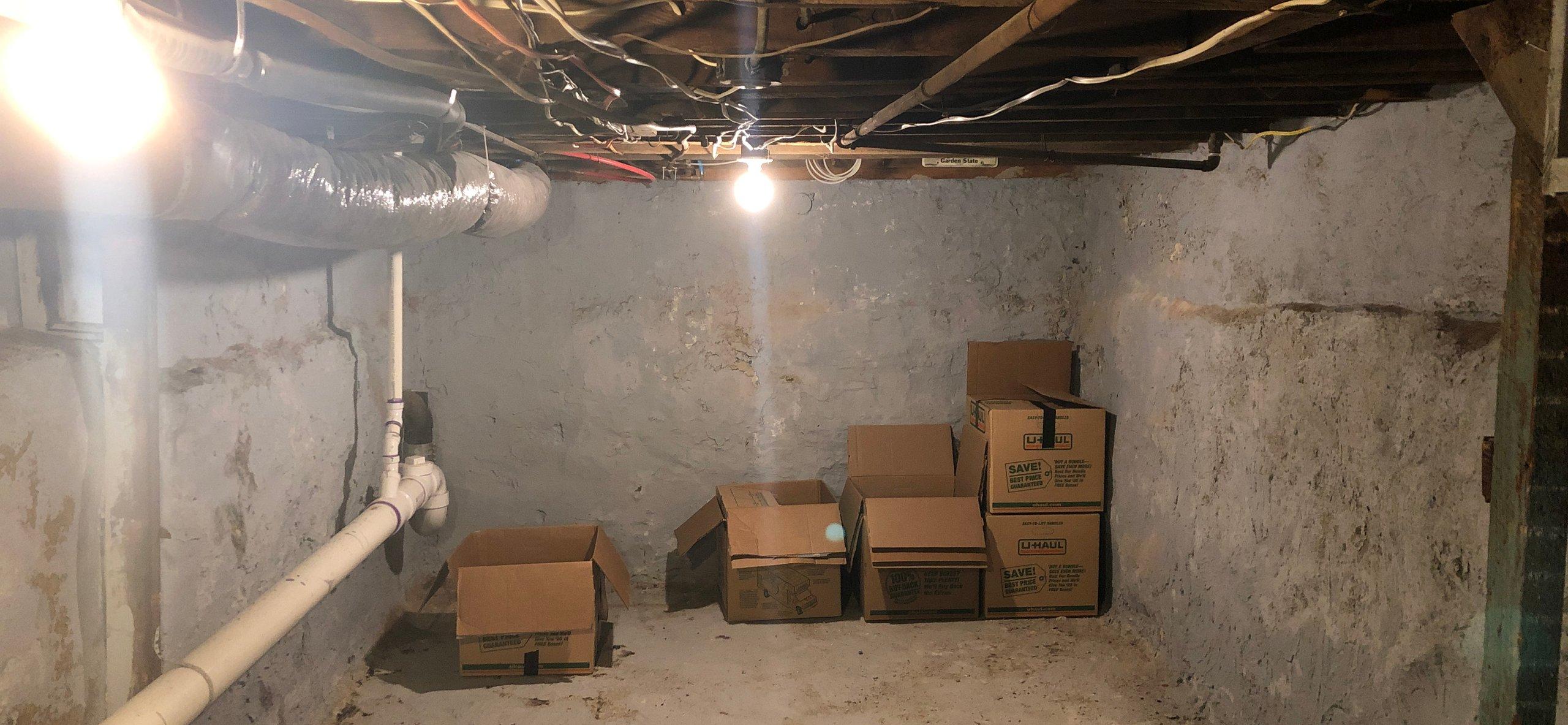 11x9 Basement self storage unit