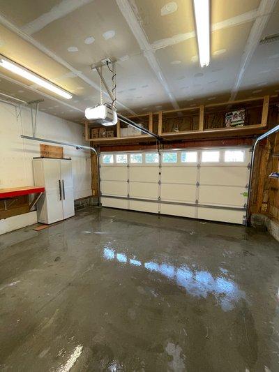 21x19 Garage self storage unit