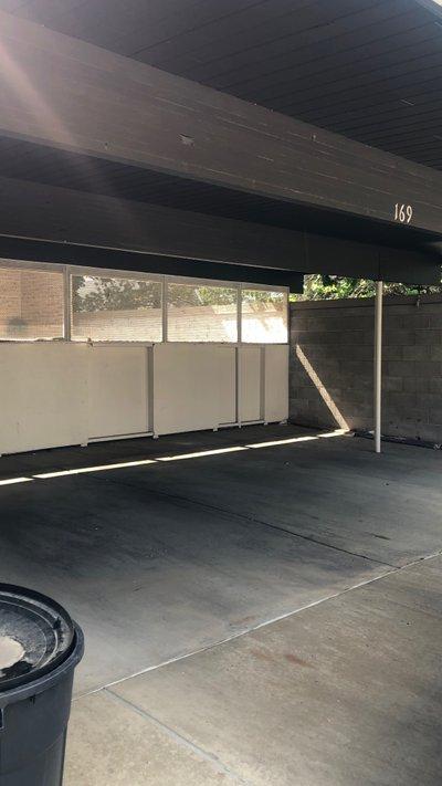 25x14 Carport self storage unit