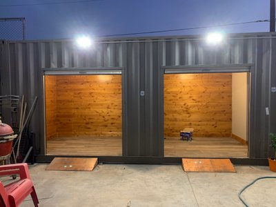 10x8 Shipping Container self storage unit