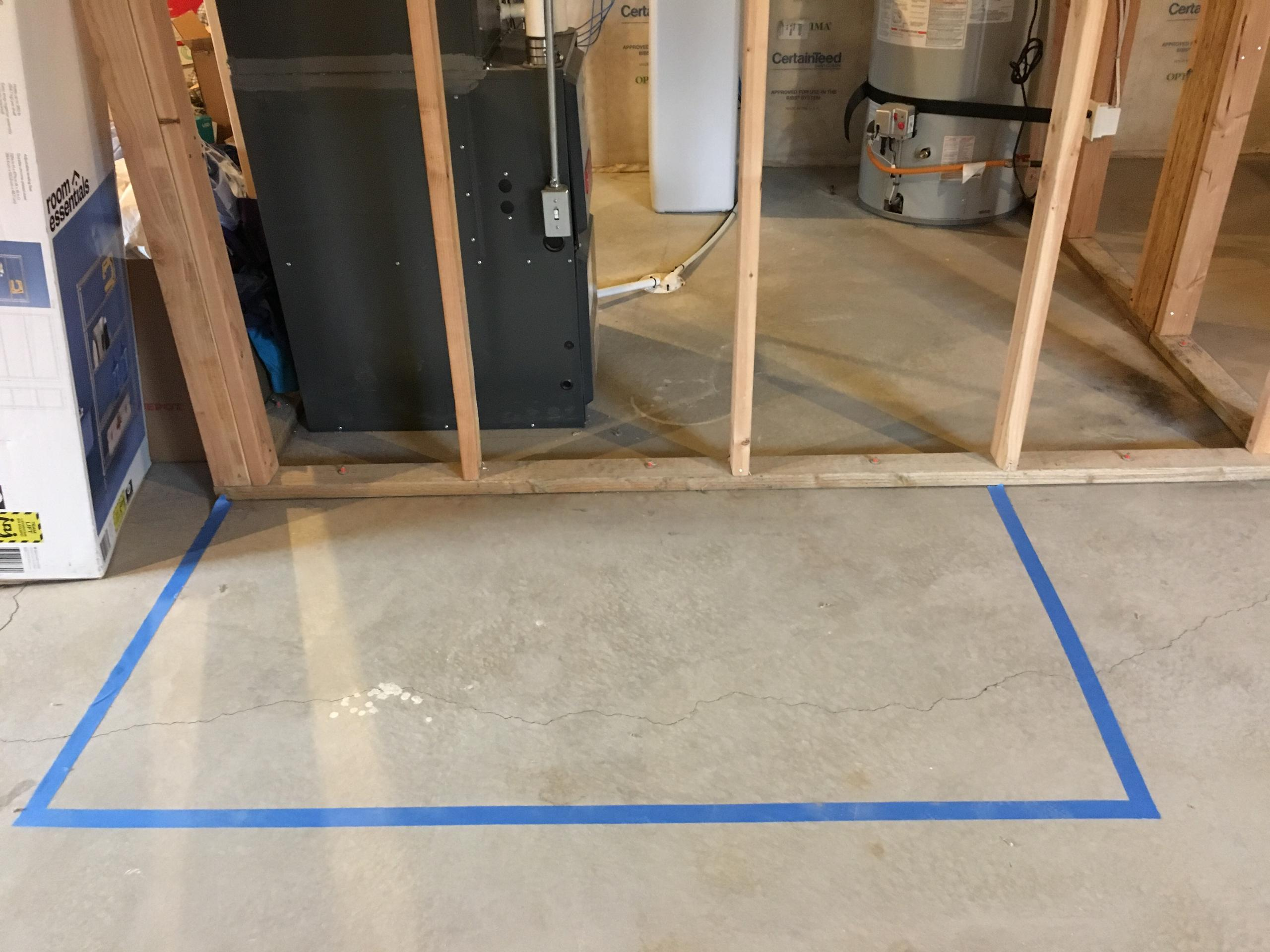 3x6 Basement self storage unit