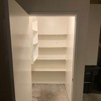 7x4 Closet self storage unit