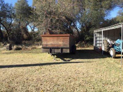 25x12 Unpaved Lot self storage unit
