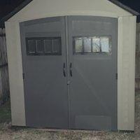 7x6 Unpaved Lot self storage unit