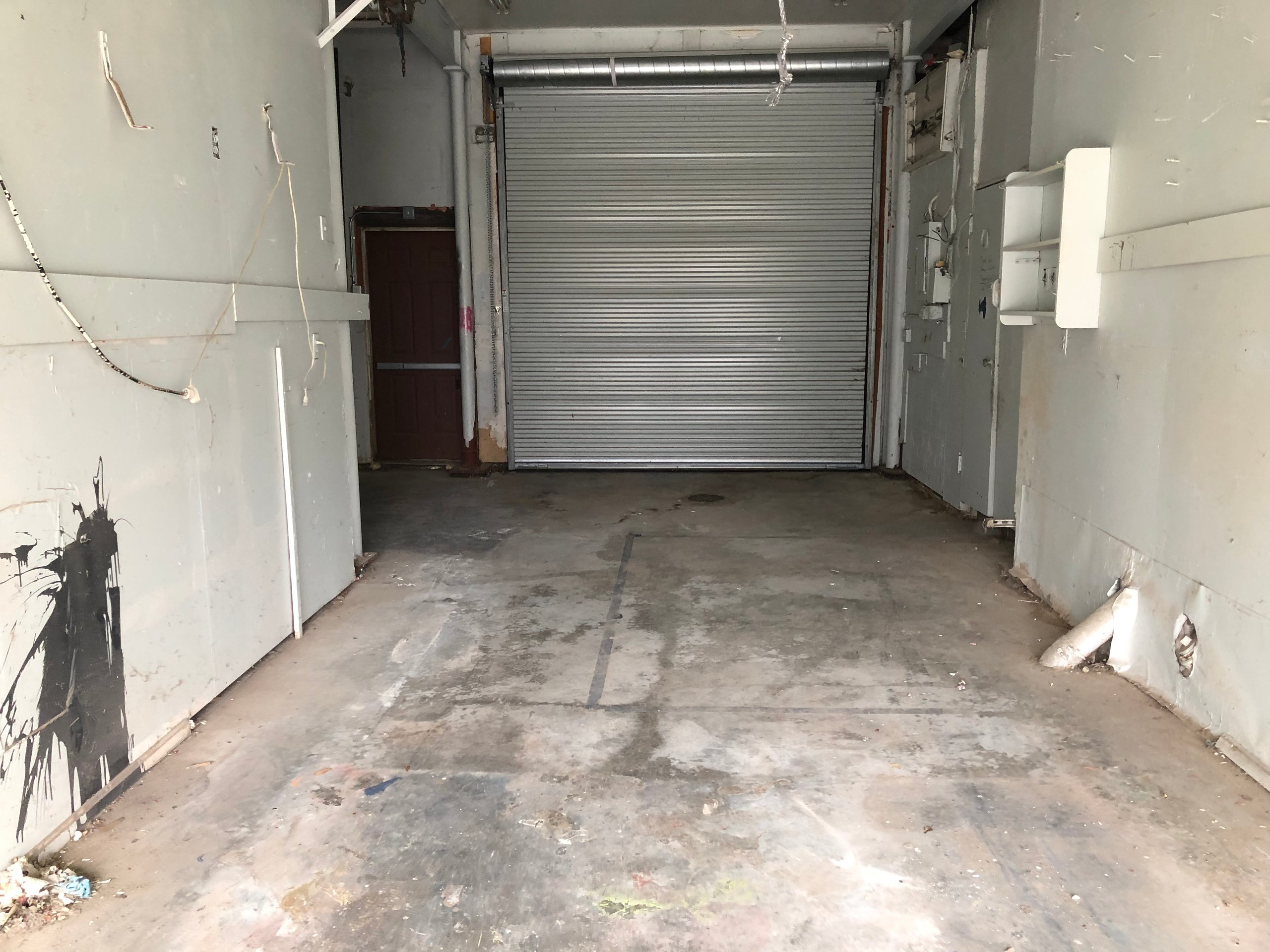 36x12 Garage self storage unit