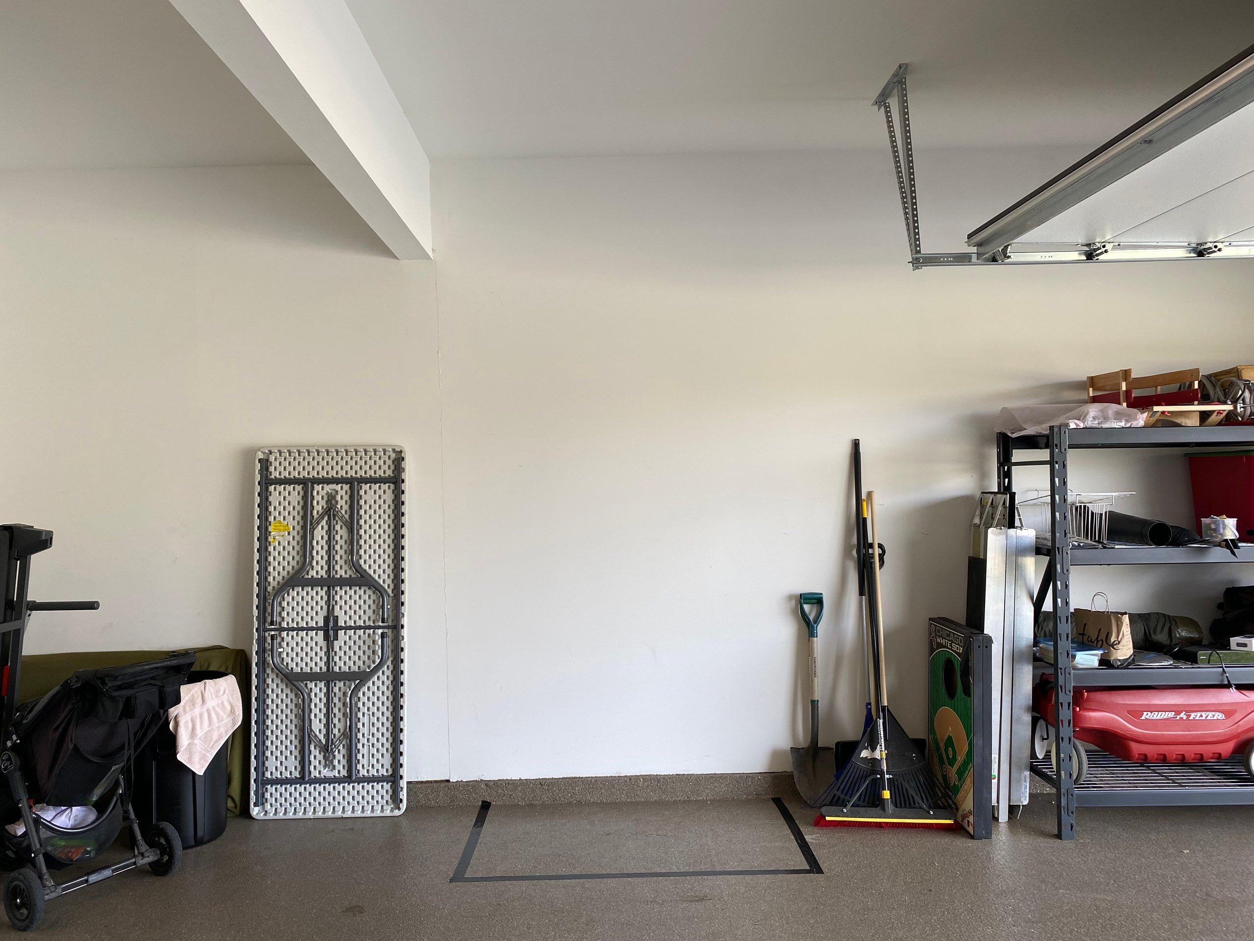 5x3 Garage self storage unit