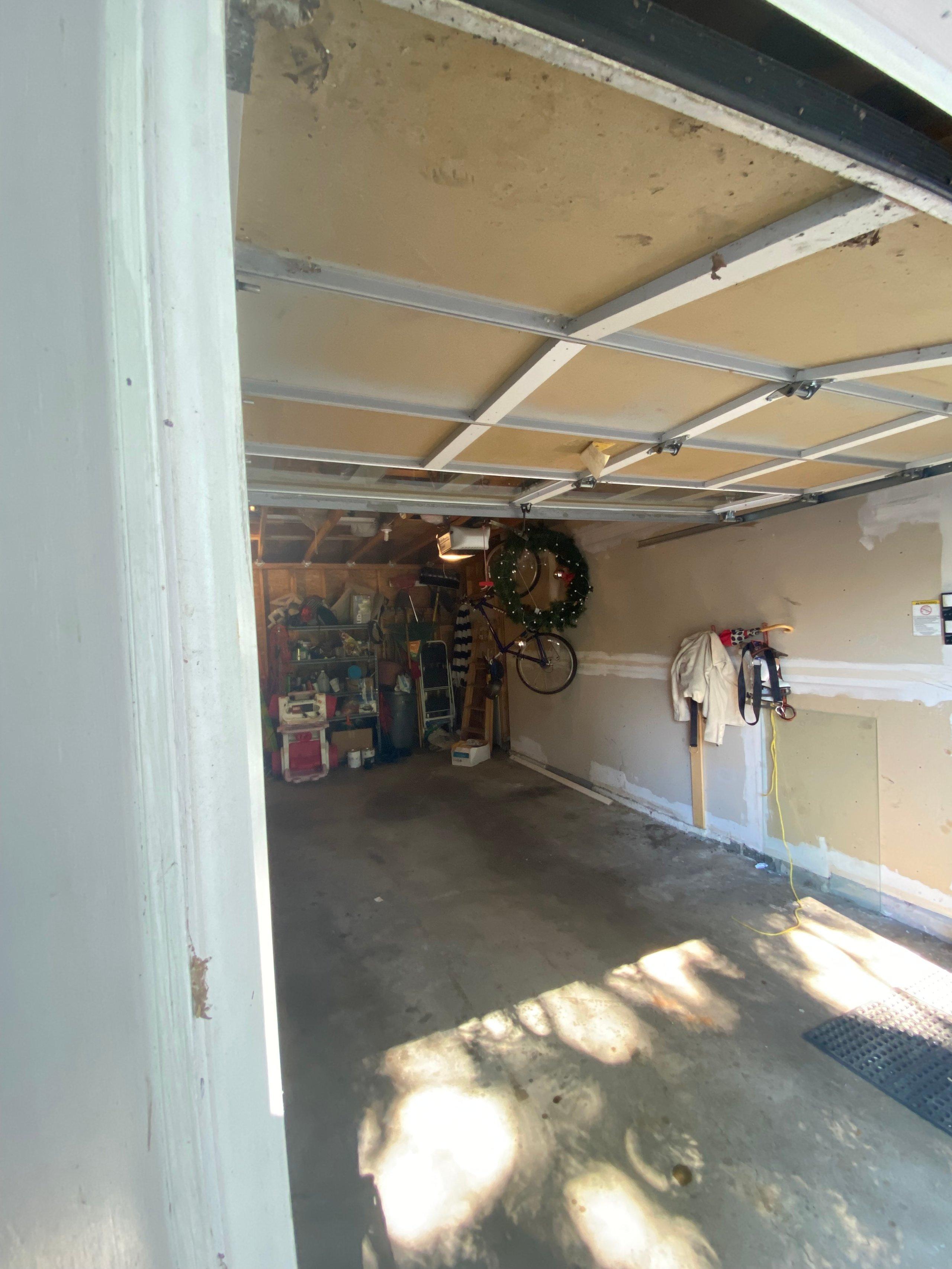 25x11 Garage self storage unit
