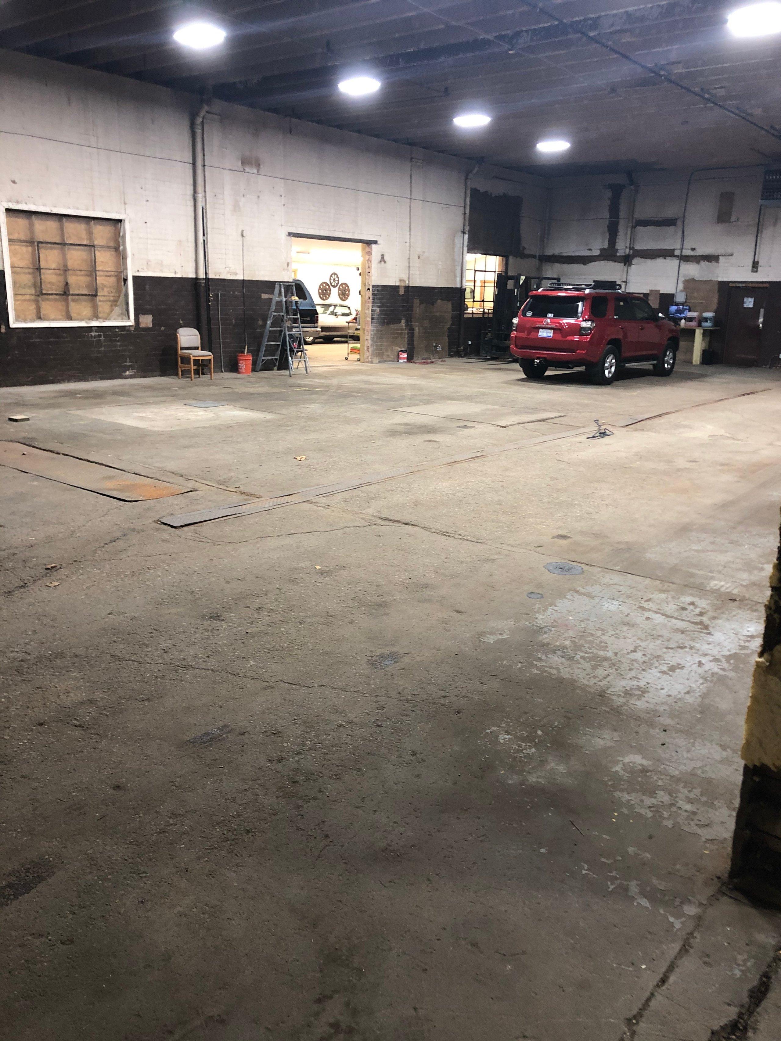 20x12 Warehouse self storage unit