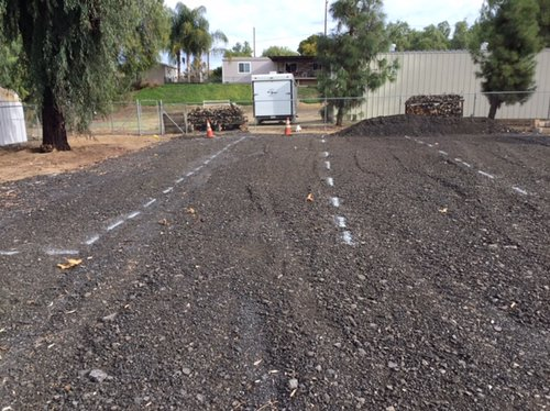 10x60 Unpaved Lot self storage unit