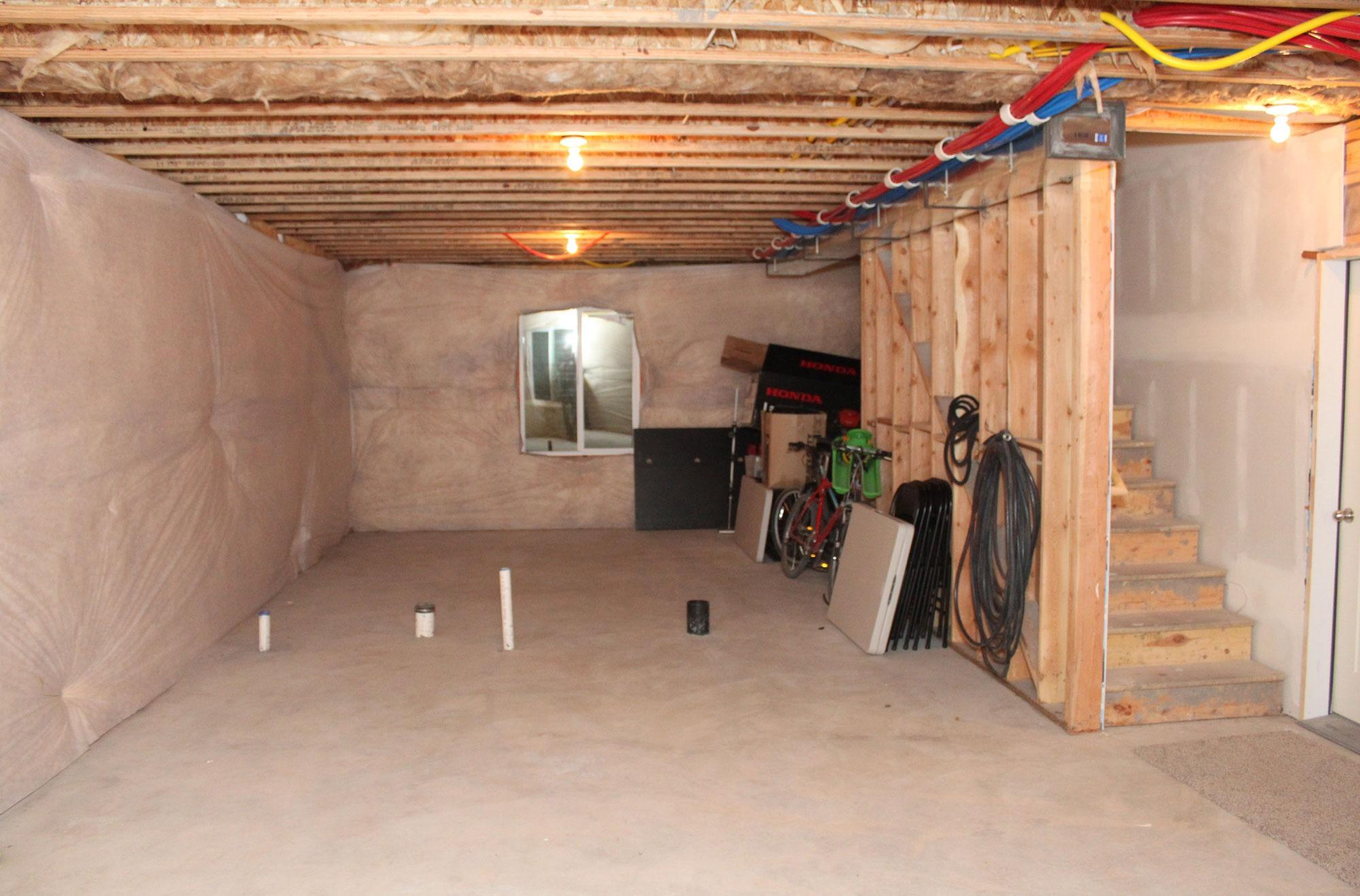 8x8 Basement self storage unit