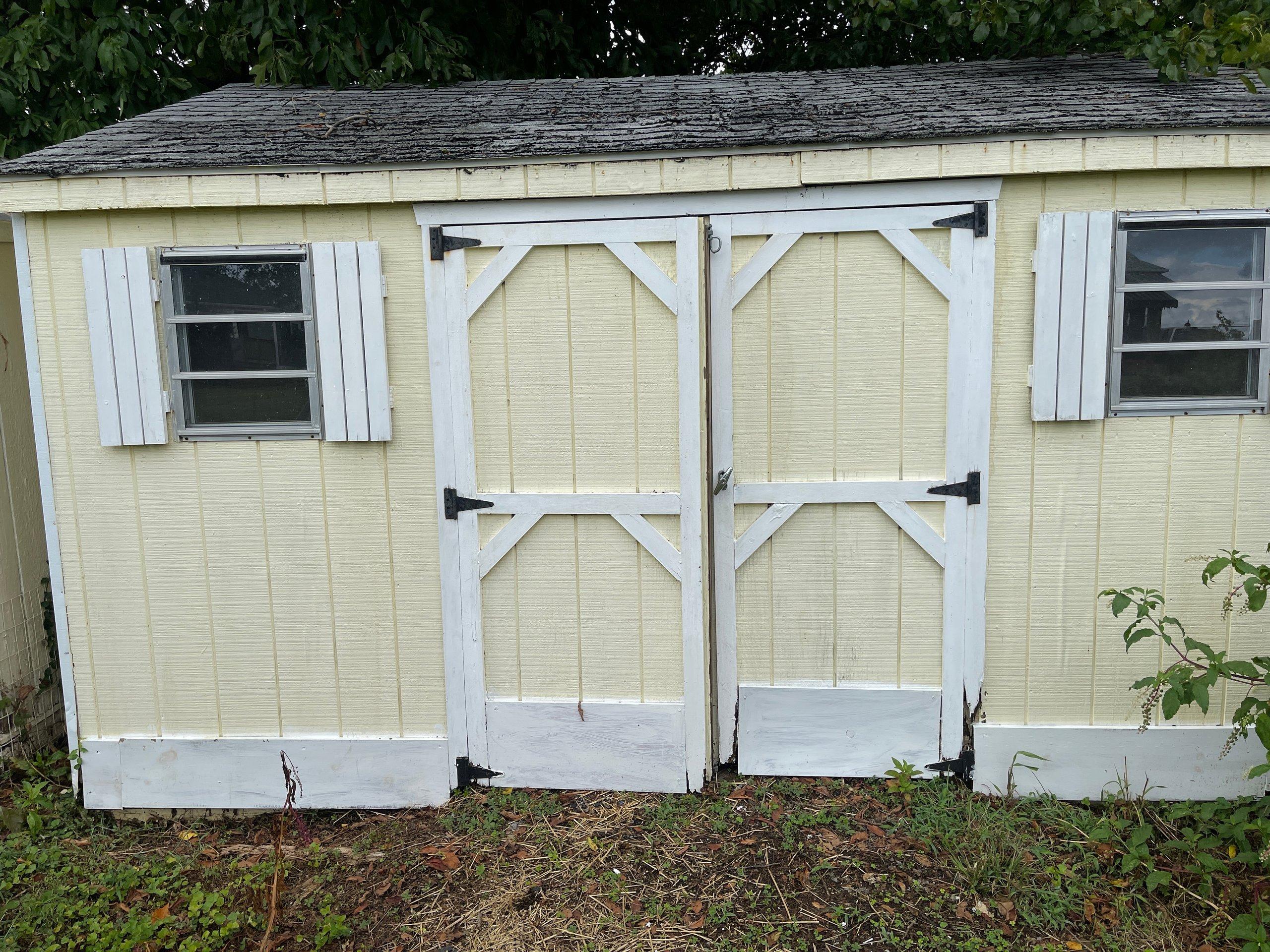 10x10 Shed self storage unit