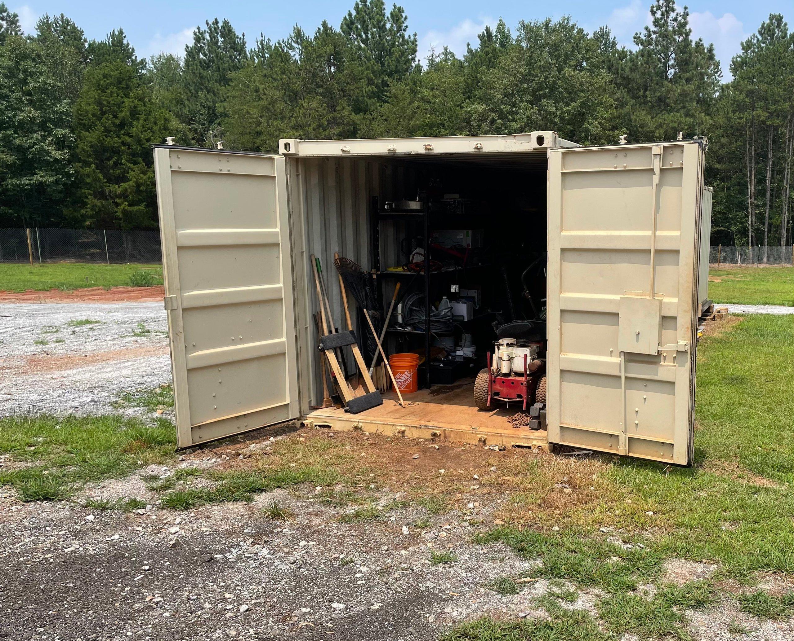 50x12 Parking Lot self storage unit