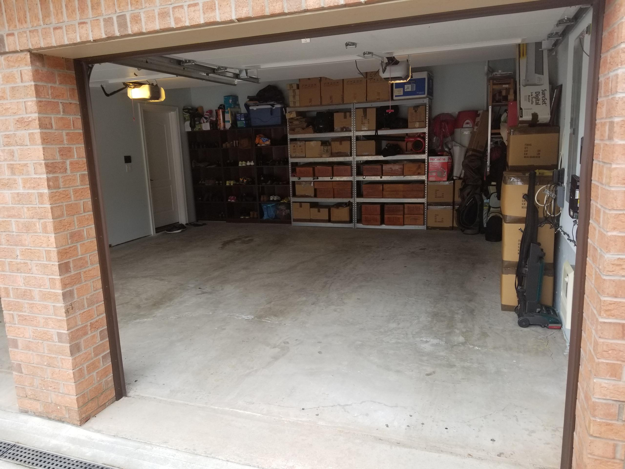 12x22 Garage self storage unit
