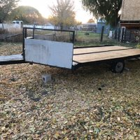 400x100 Carport self storage unit