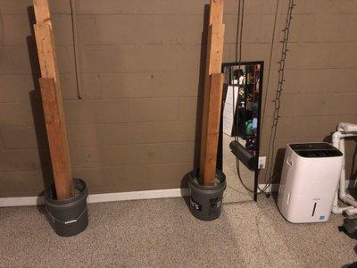 5x8 Basement self storage unit