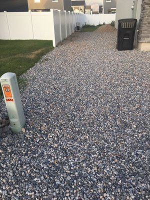 48x12 Unpaved Lot self storage unit