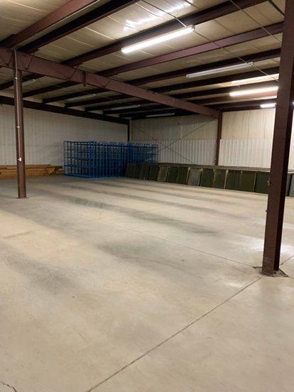 200x80 Warehouse self storage unit