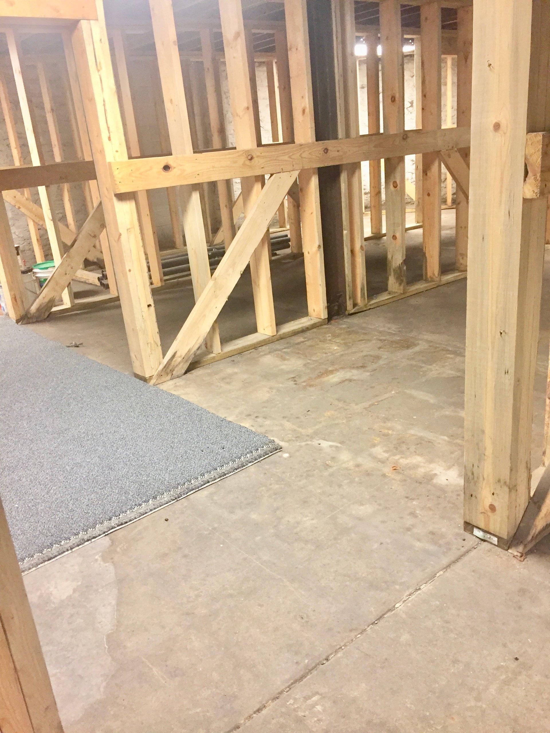 65x46 Basement self storage unit