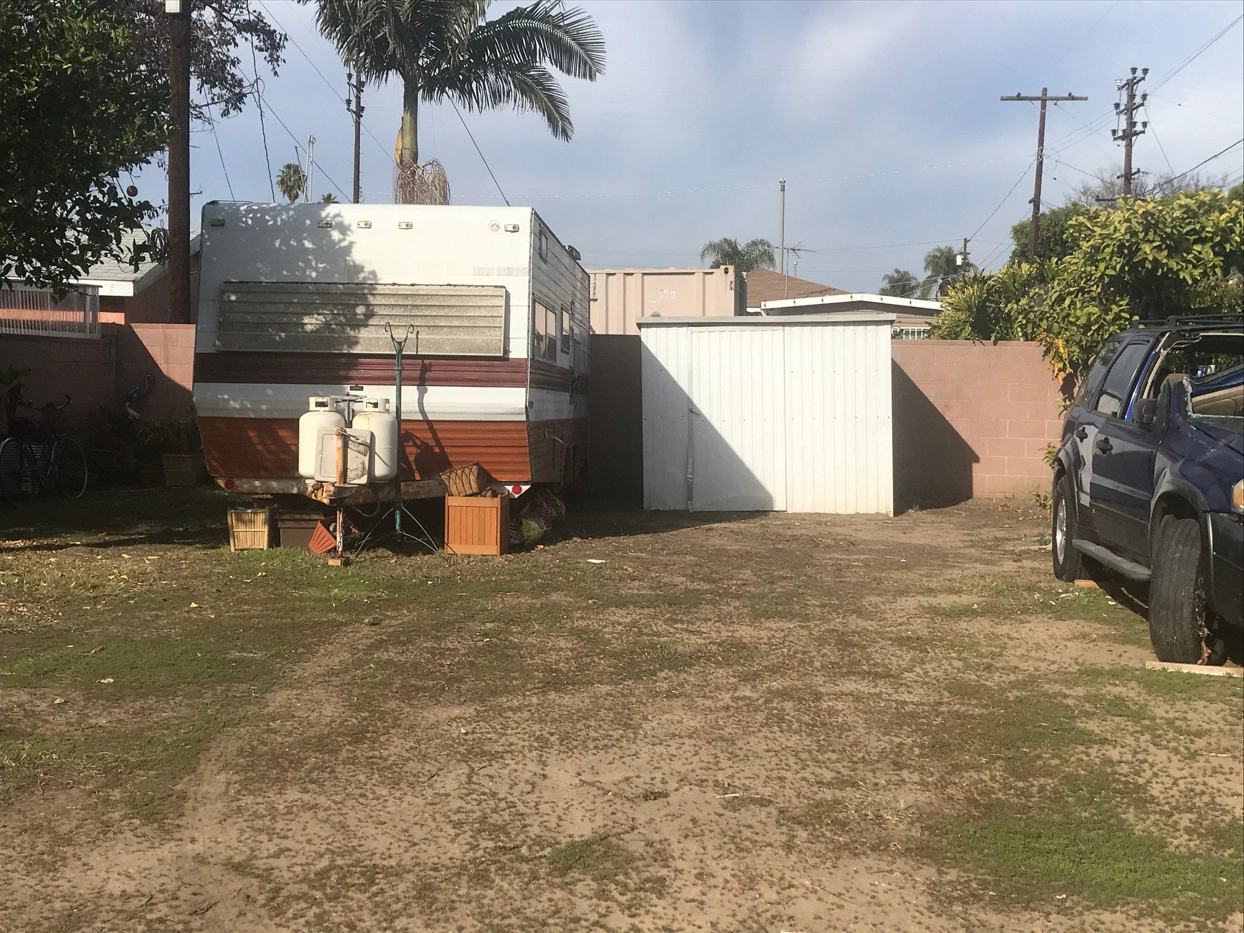 12x12 Unpaved Lot self storage unit
