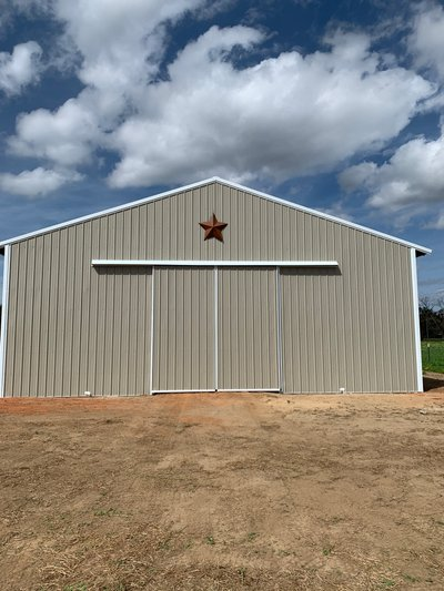 40x60 Warehouse self storage unit
