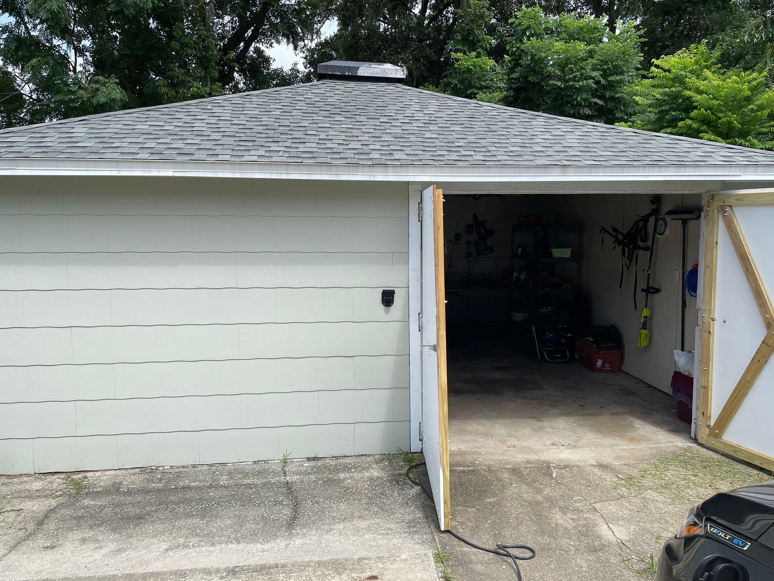 20x17 Garage self storage unit