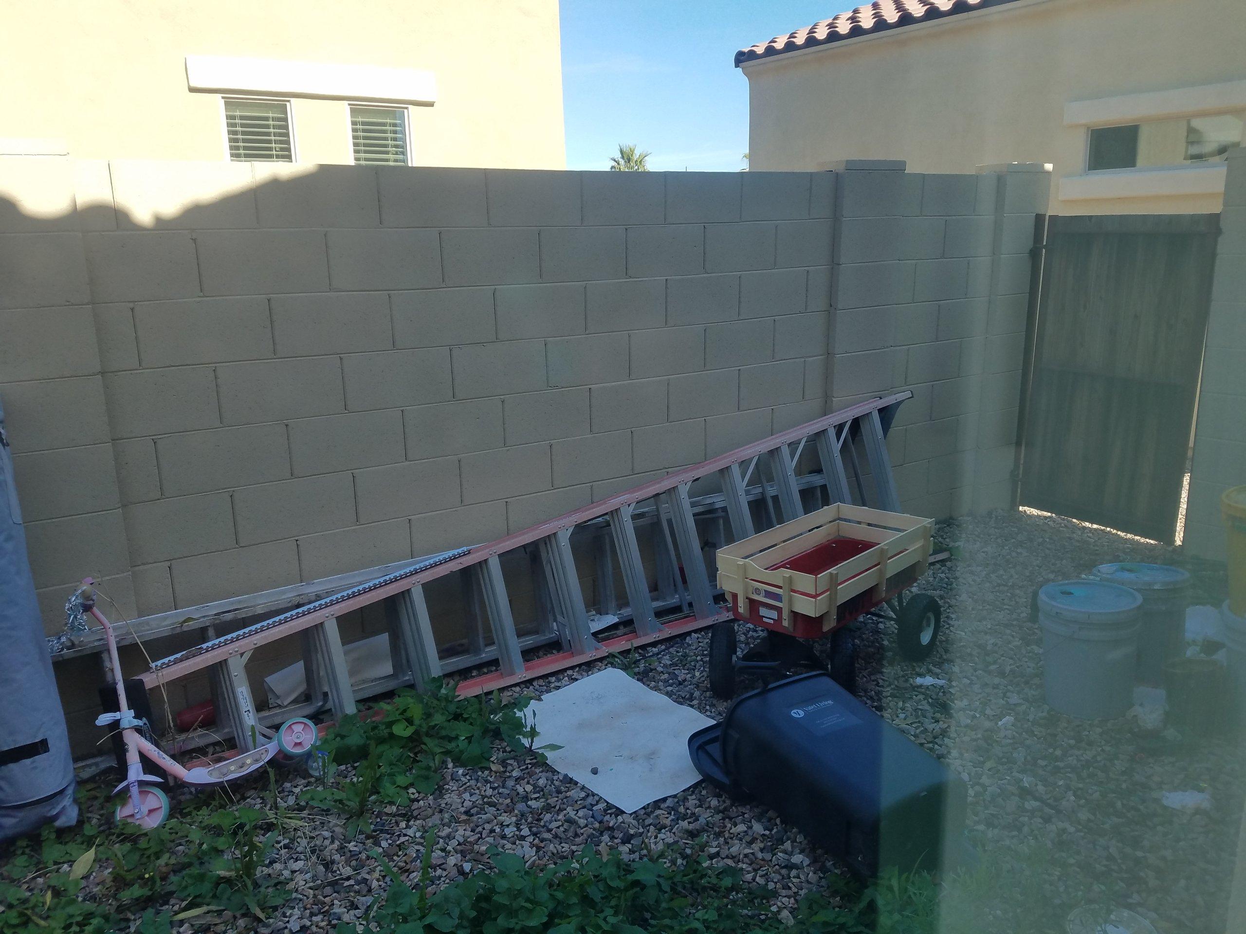 15x10 Unpaved Lot self storage unit