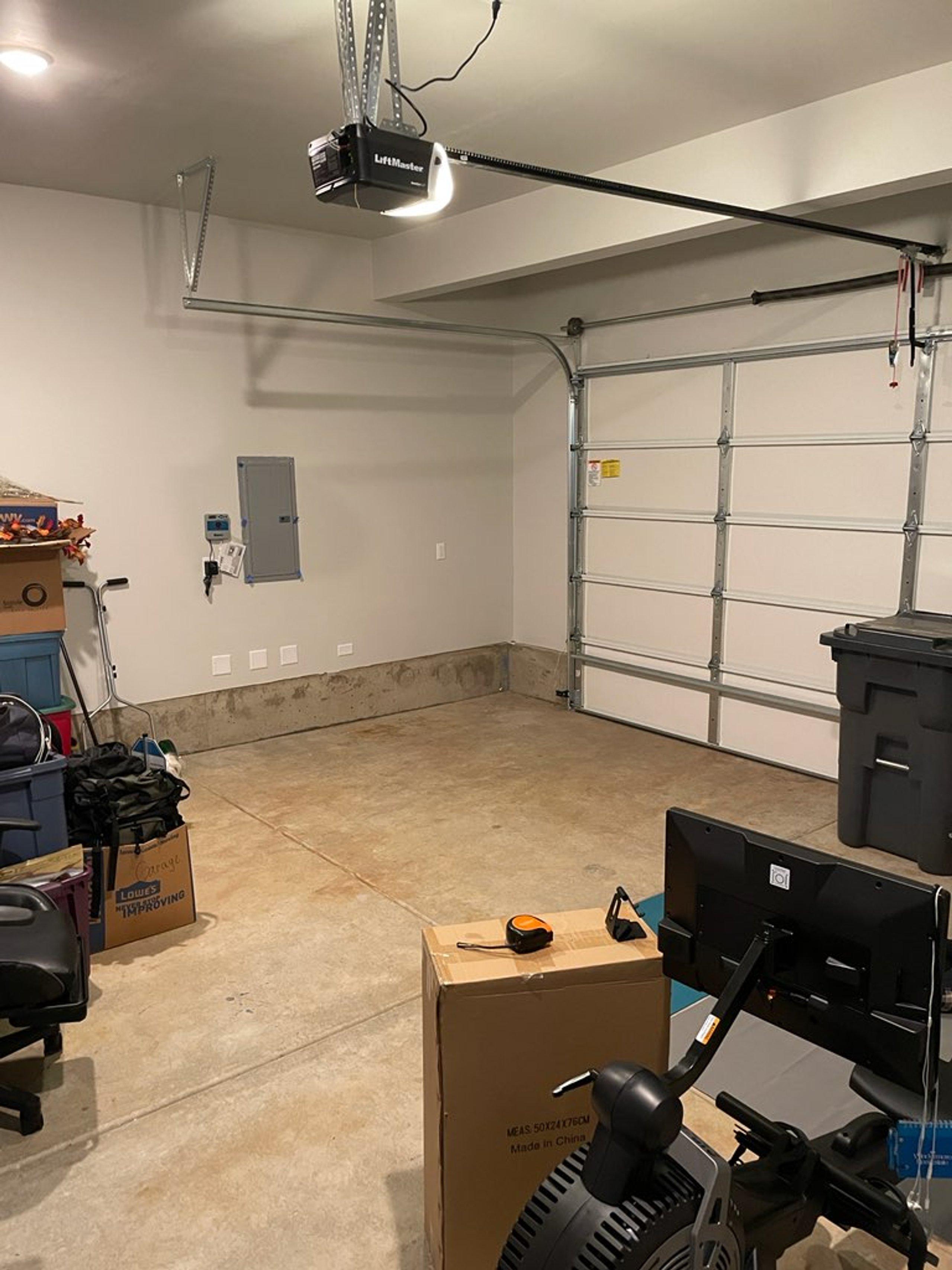 8x10 Garage self storage unit