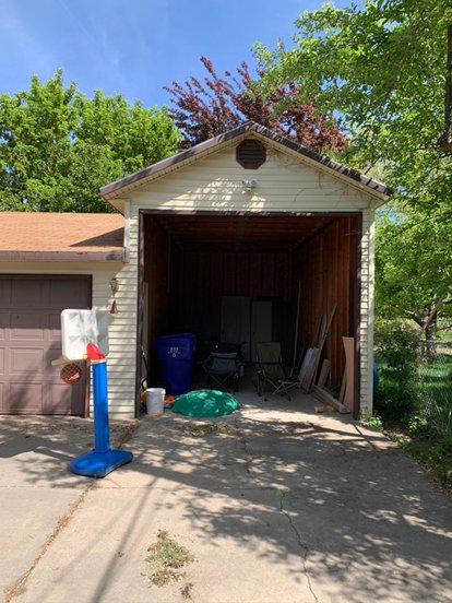 24x11 Carport self storage unit