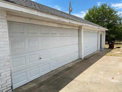 20x24 Garage self storage unit