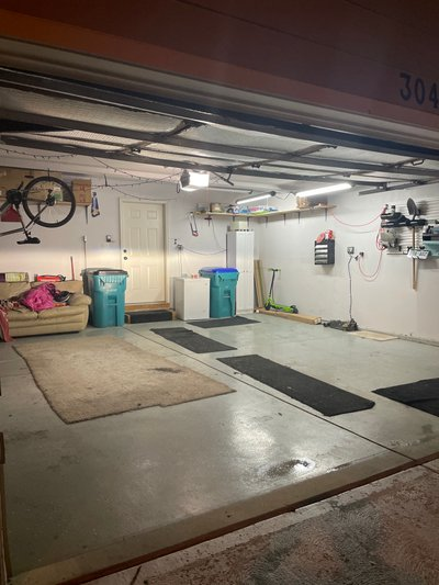 22x21 Garage self storage unit