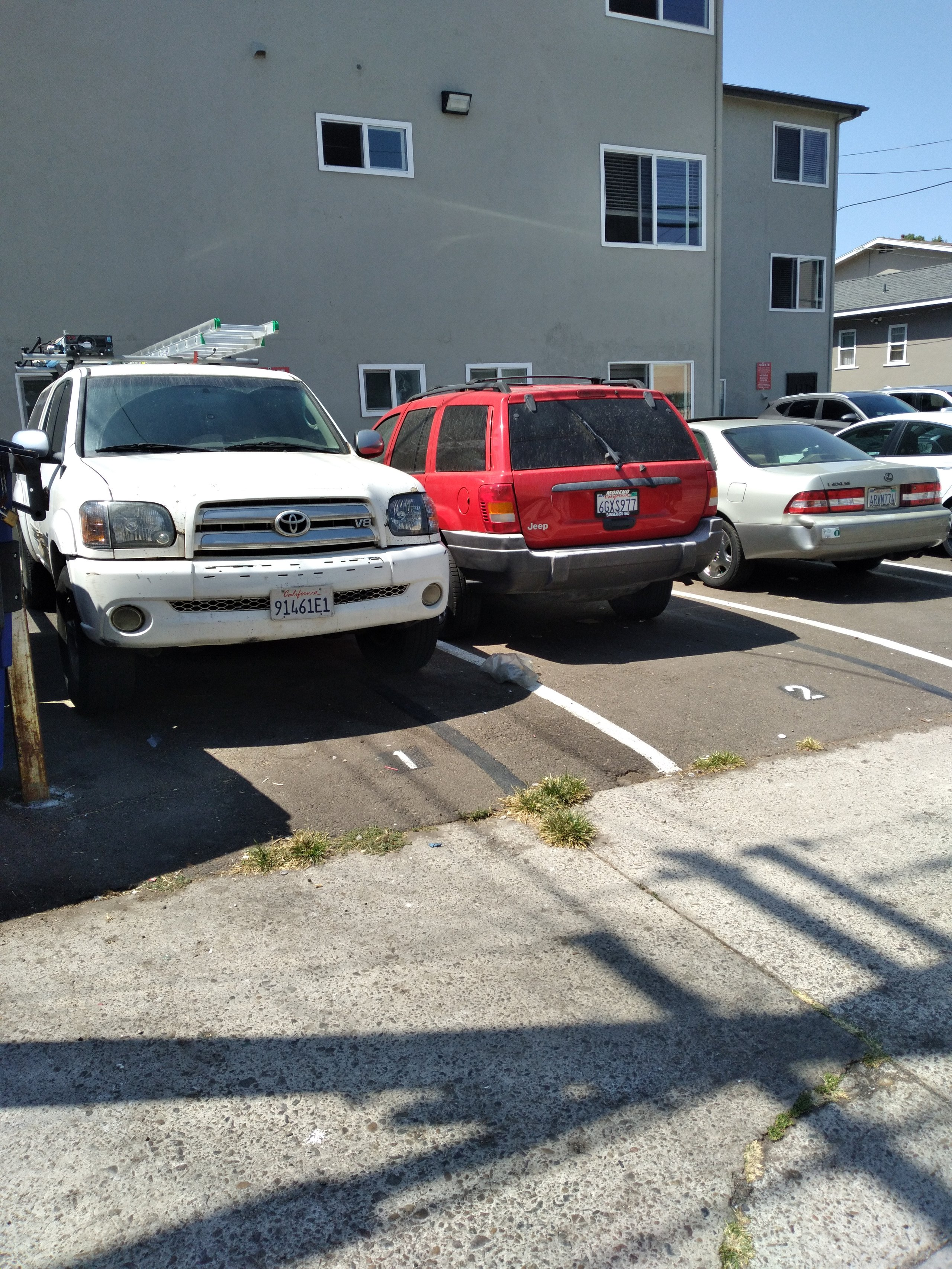 25x12 Parking Lot self storage unit