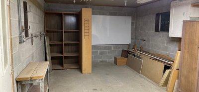 21x12 Garage self storage unit